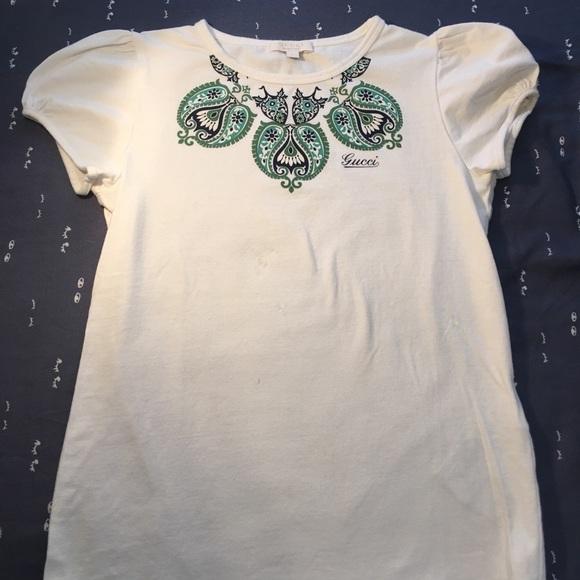 da6df3d4 Gucci Shirts & Tops | Girls T Shirt Size 8 | Poshmark